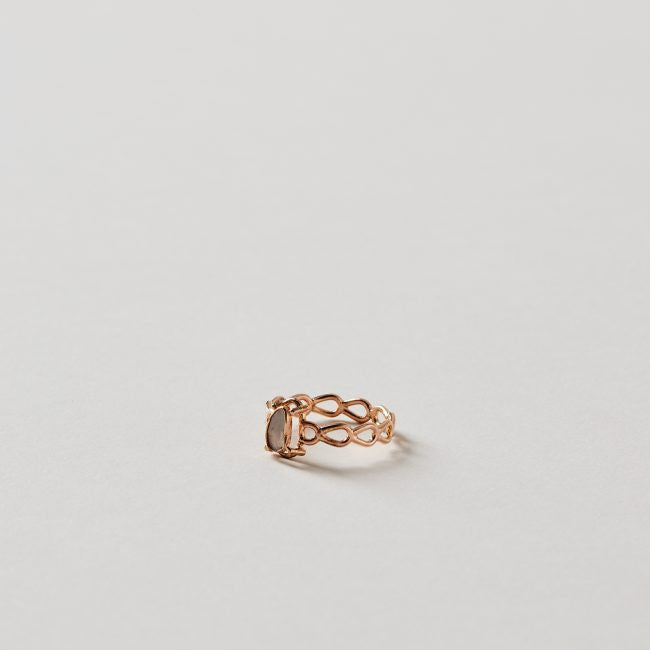 Tura Sugden Foggy Diamond Lace Ring
