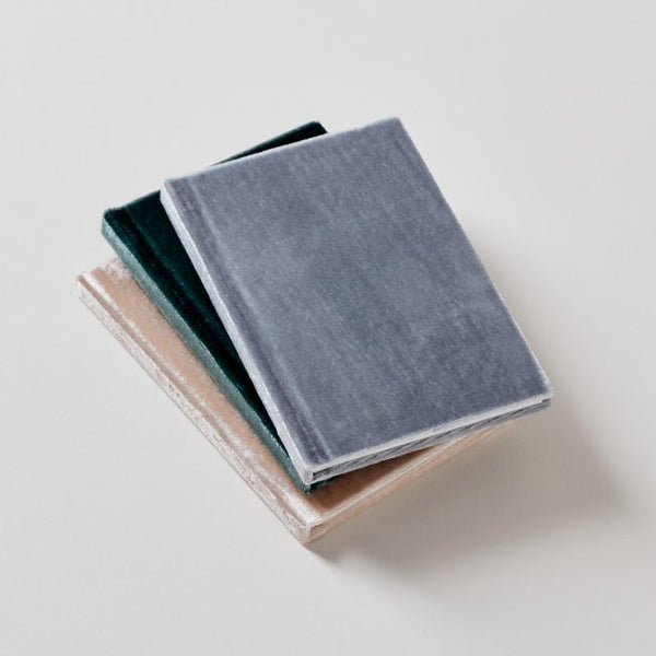 Velvet Mini Journal Blank