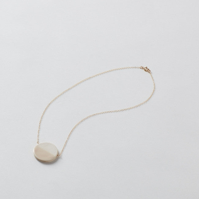 Zoe Comings Large Pebble Wrap Necklace