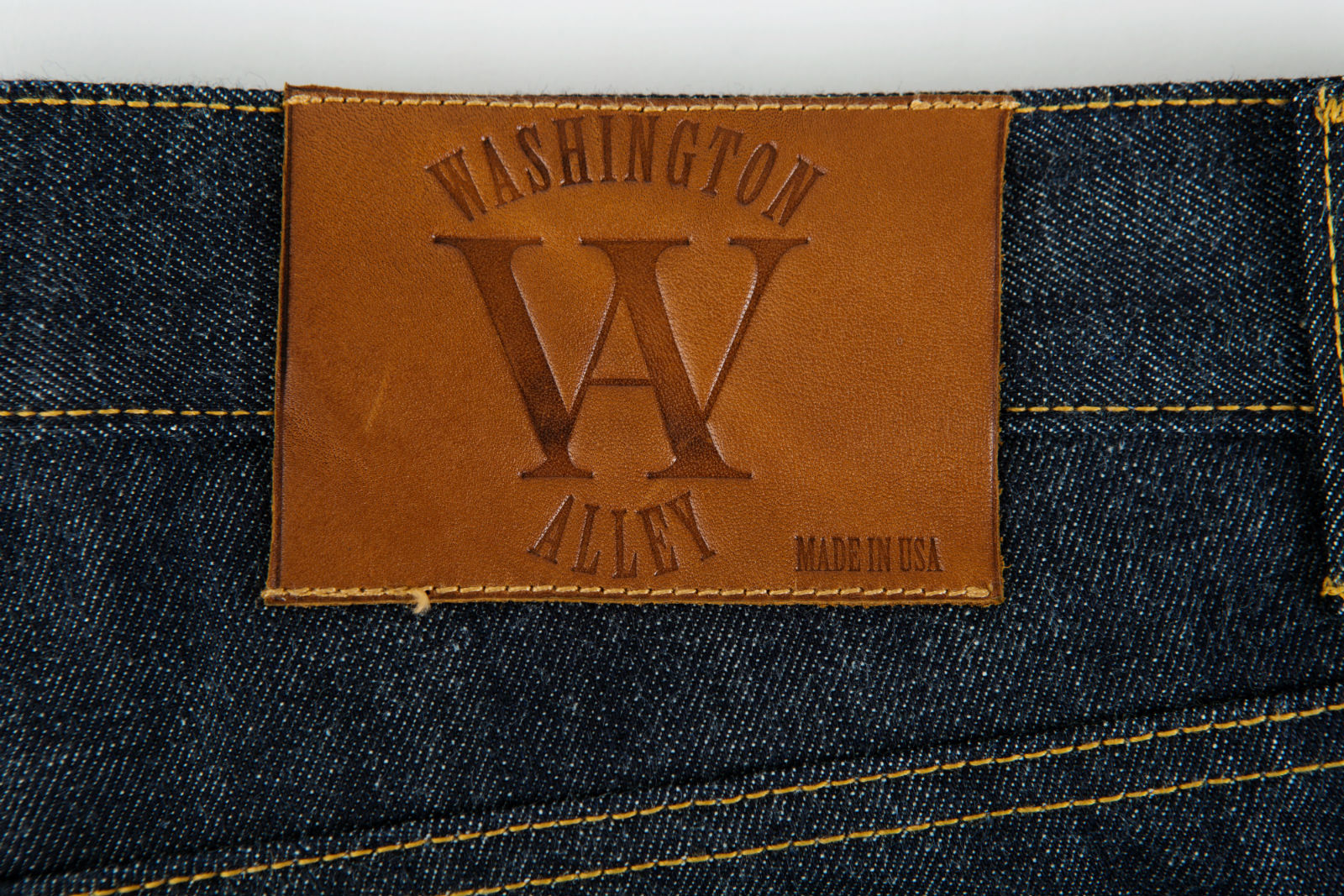 Webster - Slim Straight Selvedge Details