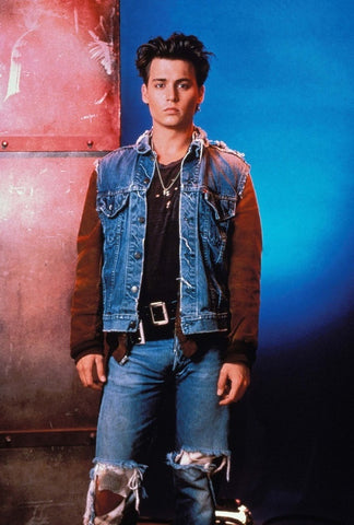 Jon Depp in denim