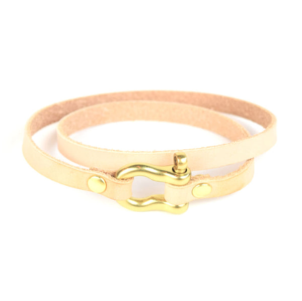 DOUBLE WRAP SHACKLE BRACELET - Washington Alley