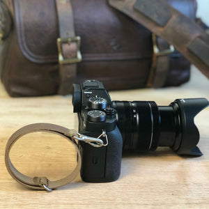 LEATHER CAMERA WRIST STRAP - Washington Alley