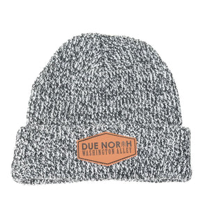 DUE NORTH BEANIE - GREY MIX - Washington Alley