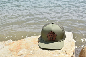 WA OLIVE SNAP BACK CAP - Washington Alley