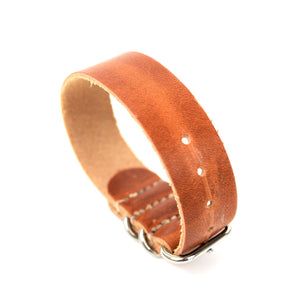 LEATHER WATCH STRAP - HORWEEN DUBLIN - Washington Alley