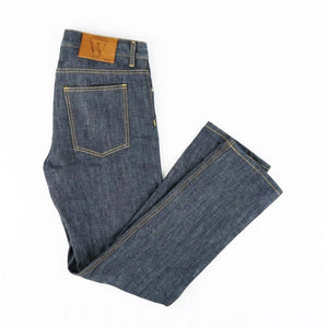 WEBSTER - SLIM STRAIGHT RAW SELVEDGE JEANS - Washington Alley
