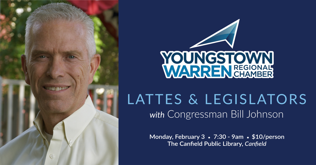 Lattes & Legislators with Congressman Bill Johnson