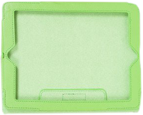 Chartreuse Tablet Case (Large)