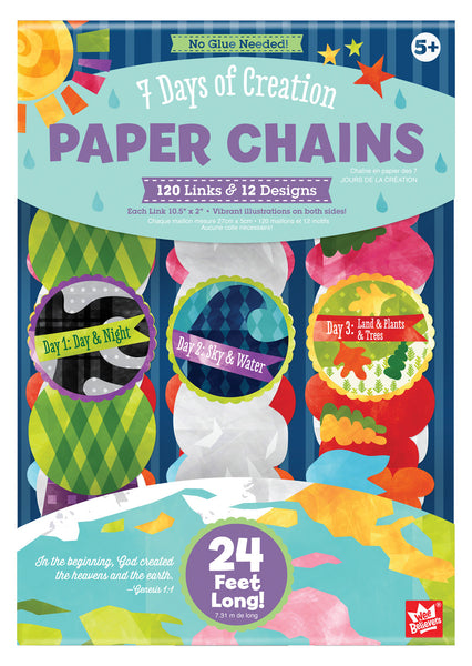 7 Days of Creation Paper Chains