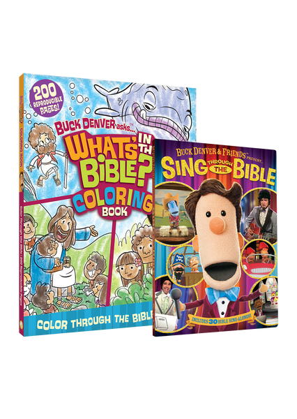 Color and Sing Through the Bible
