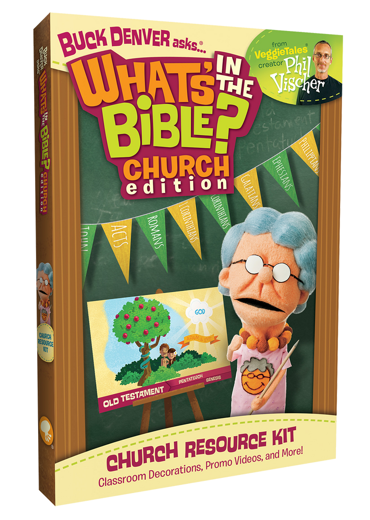 What's In The Bible? Church Resource Kit