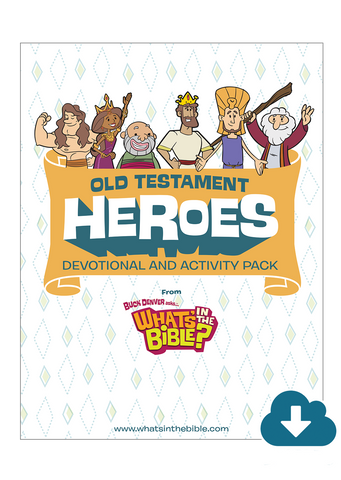 Old Testament Heroes Activity Pack