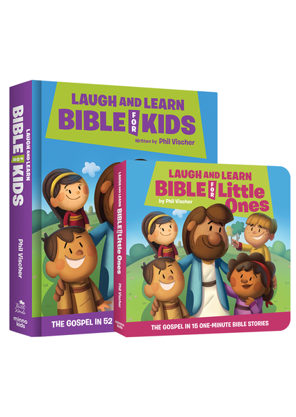Laugh and Learn Bible Family Bundle