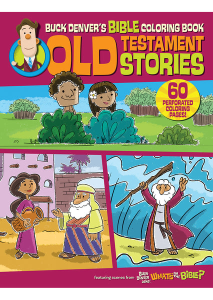 Buck Denver's Bible Coloring Book Old Testament Stories