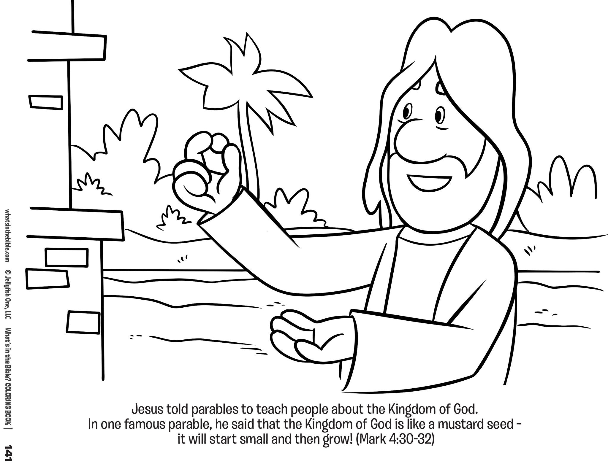 Whats In The Bible Coloring Book JellyTelly