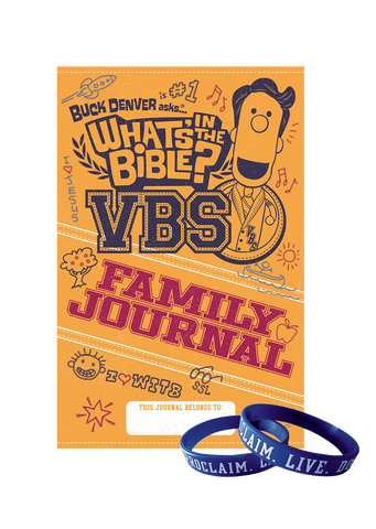 VBS Wristbands and Family Journals