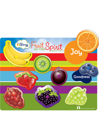 Fruit of the Spirit Peg Puzzle