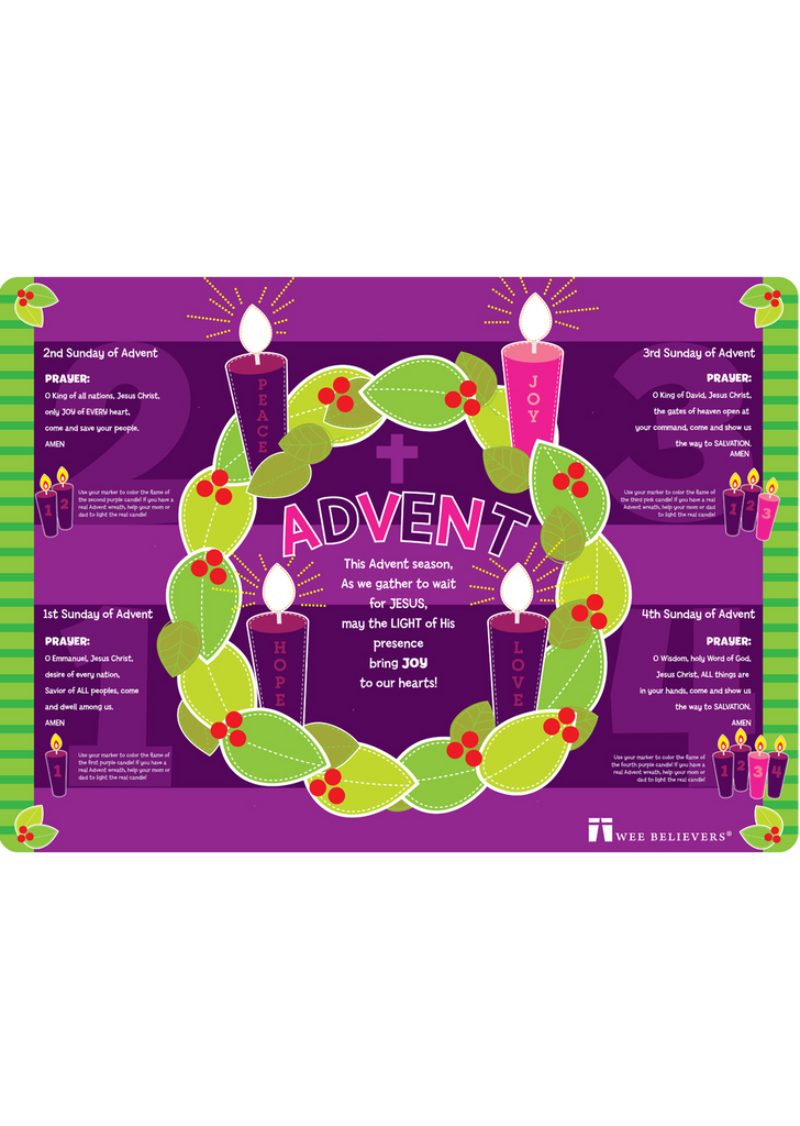 Advent Placemat