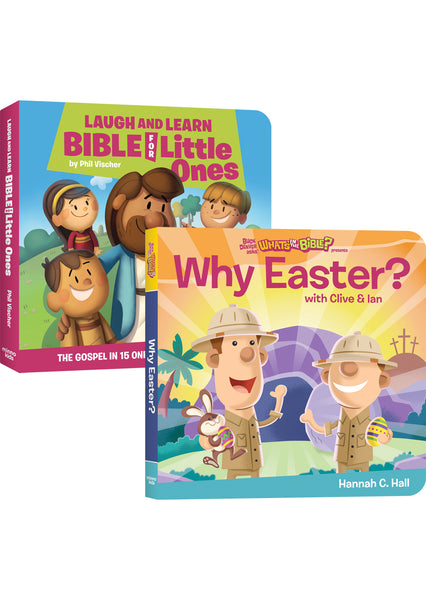 Laugh and Learn Bible for Little Ones and Why Easter? bundle