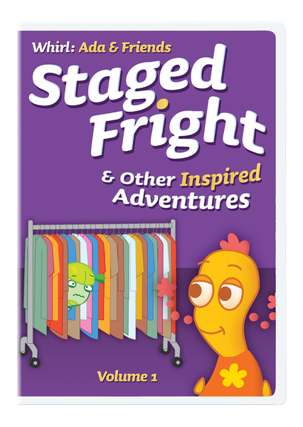 Staged Fright and Other Inspired Adventures: Whirl Ada & Friends Volume 1