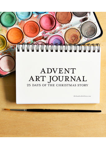 Printable Advent Art Journal