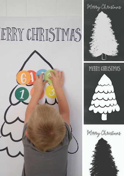 Advent Christmas Tree Activity Kit