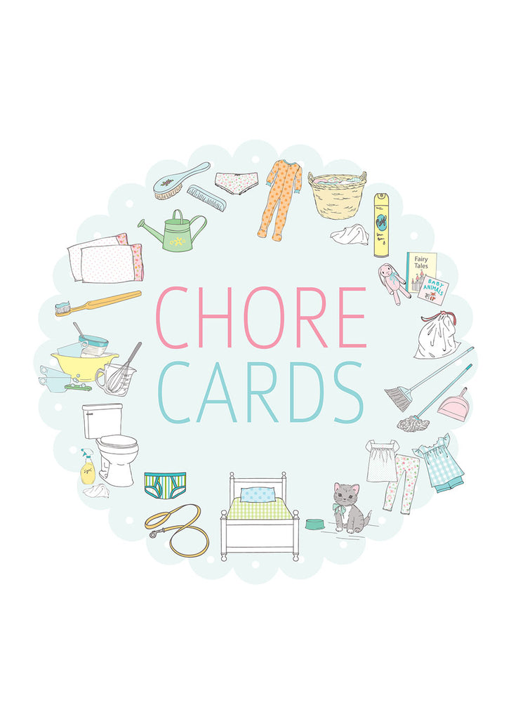 Children's Printable Chore Cards