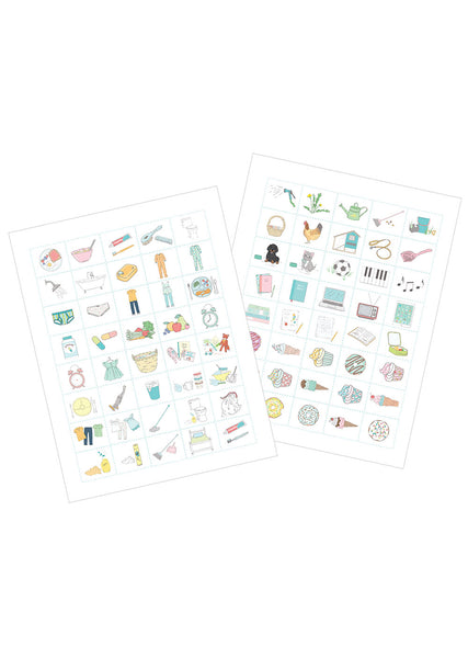 Children's Printable Routines and Chore Chart