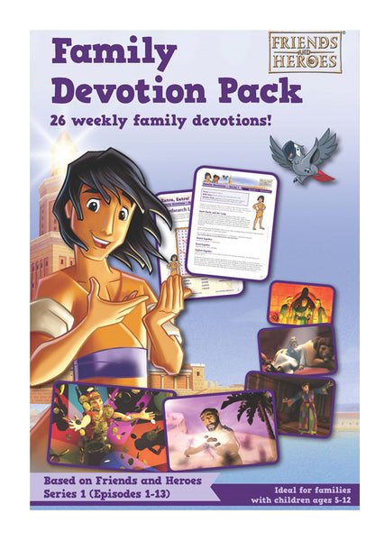 Friends and Heroes Series 1 Family Devotion Pack