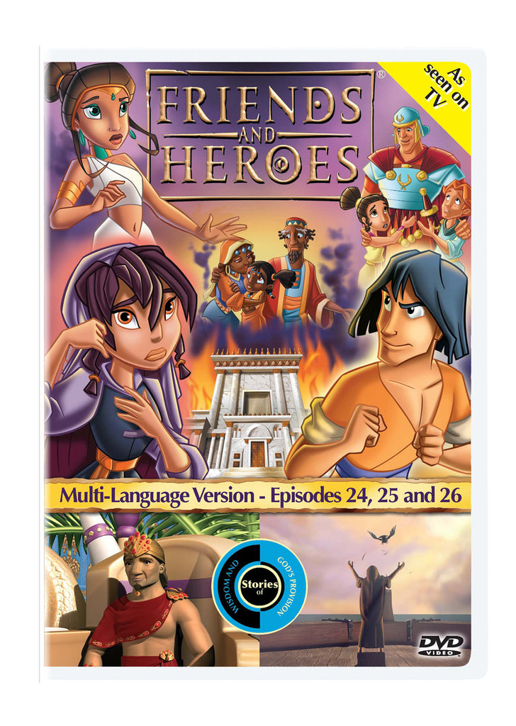 Friends and Heroes Episodes 24, 25 & 26