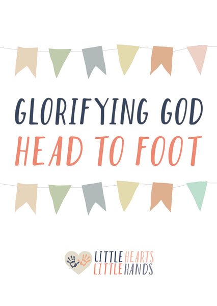 Head to Foot Kids Craft Devotional and Parent Prayer Cards