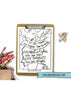 52 Hand-drawn Bible Verse Coloring Pages