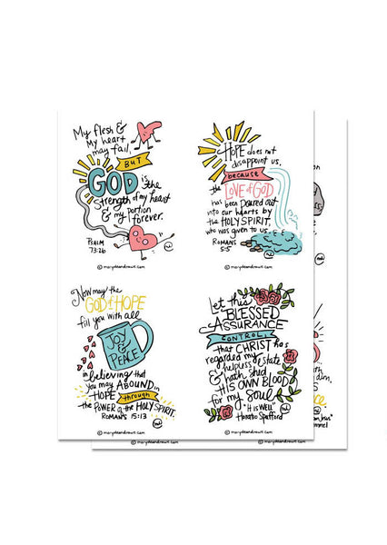 Hope Printable Bible Verse Cards