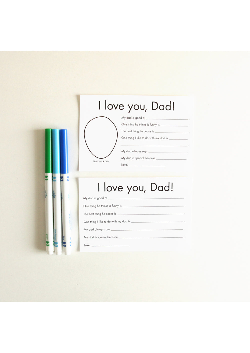 Printable Father S Day Card Jellytelly