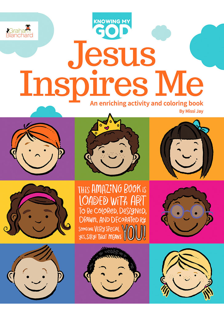 Jesus Inspires Me: An Enriching Activity & Coloring Book