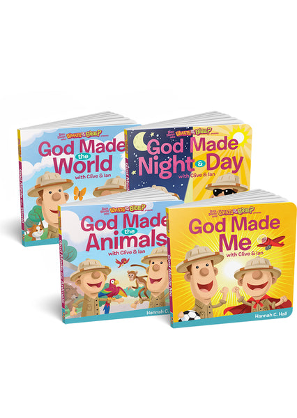 God Made...Board Book Bundle