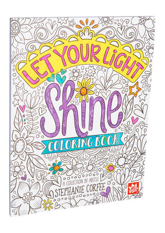 Let Your Light Shine Coloring Book, Vol.1