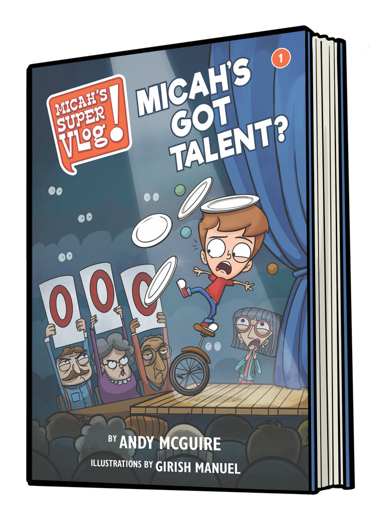 Micah's Super Vlog: Micah's Got Talent?