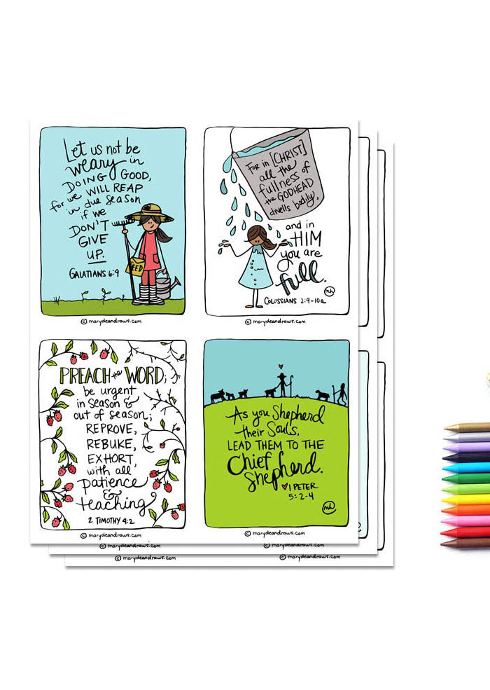 Mission: Motherhood Printable Bible Verse Cards