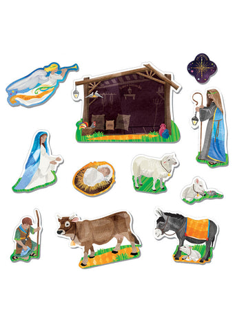 Nativity Magnet Set