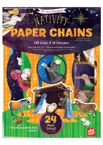Nativity Paper Chains