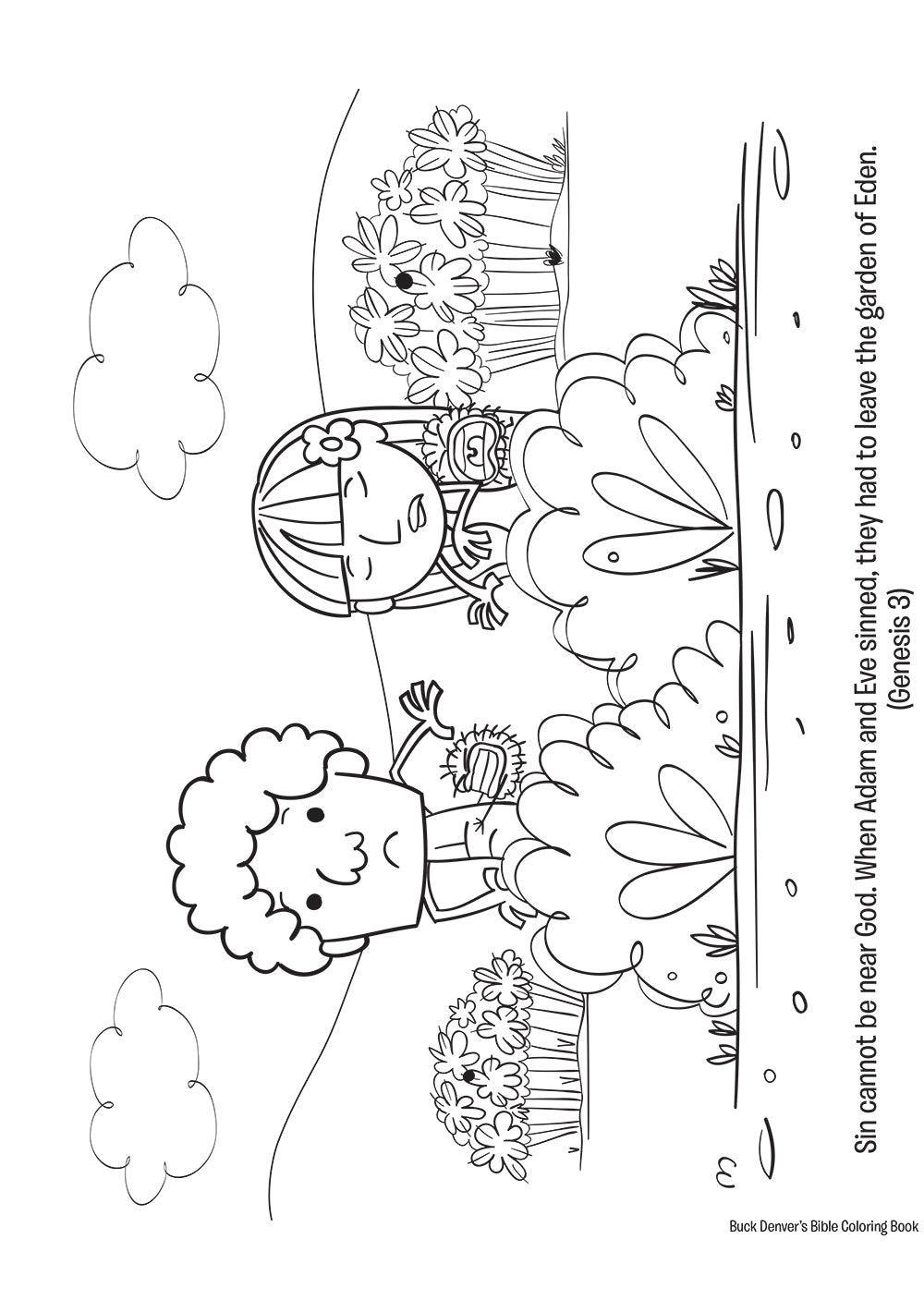 Buck Denver's Bible Coloring Book Old & New Testament