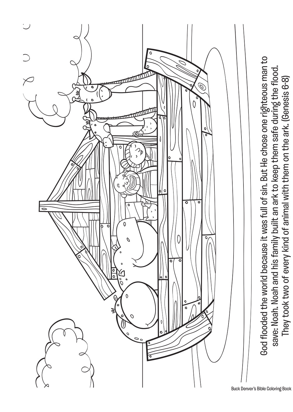 Buck Denver\'s Bible Coloring Book Old & New Testament ...