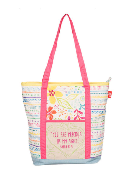 Precious Quilted Tote Bag