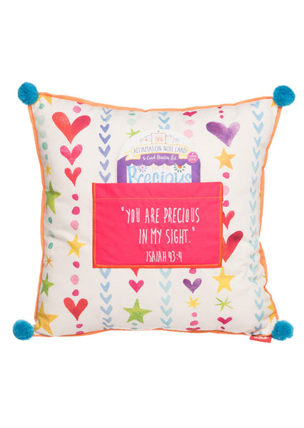 Precious Affirmation Pillow