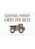 Trucks Scripture Memory Cards