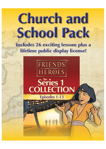Friends and Heroes Series 1 Church and School Pack
