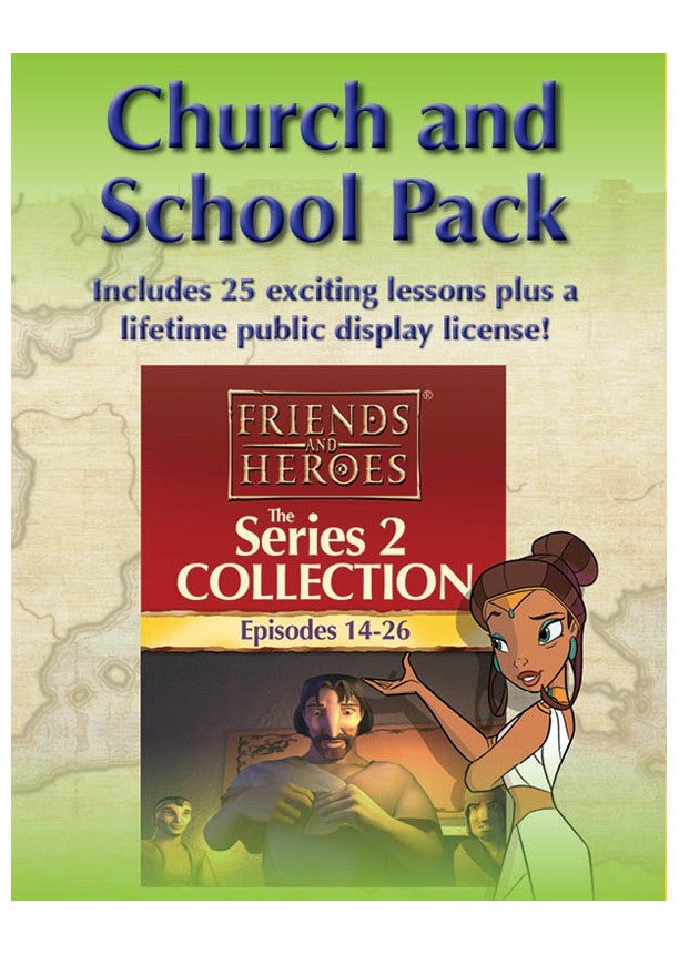 Friends and Heroes Series 2 Church and School Pack