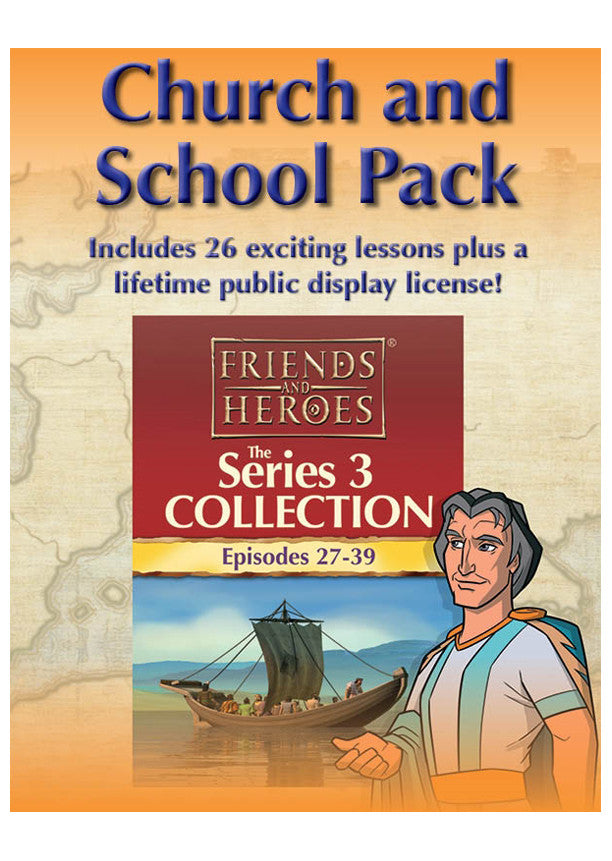 Friends and Heroes Series 3 Church and School Pack